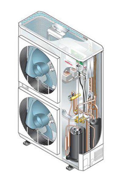 Pompa di calore aria acqua bolletta leggera for Costo pompa di calore aria acqua